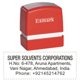 Exmark Address Stamps