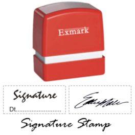 Exmark Signature Stamps