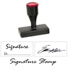 Nylon Signature Stamps