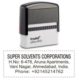 Trodat Address Stamps
