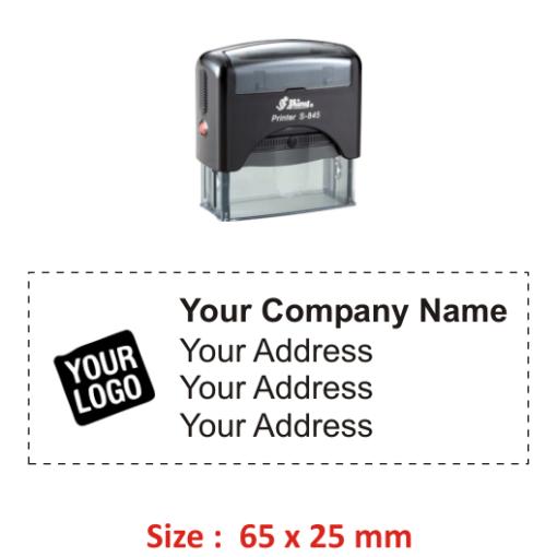 Buy Shiny Logo Stamp 4 Online Madhu Stamps India