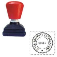 Dura Round Stamps