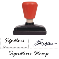 Dura Signature Stamps
