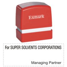 Exmark Designation Stamps