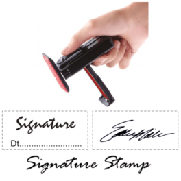 Handy Signature Stamps