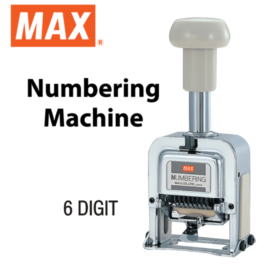 Max Numbering Machine