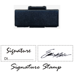Pocket Signature Stamps