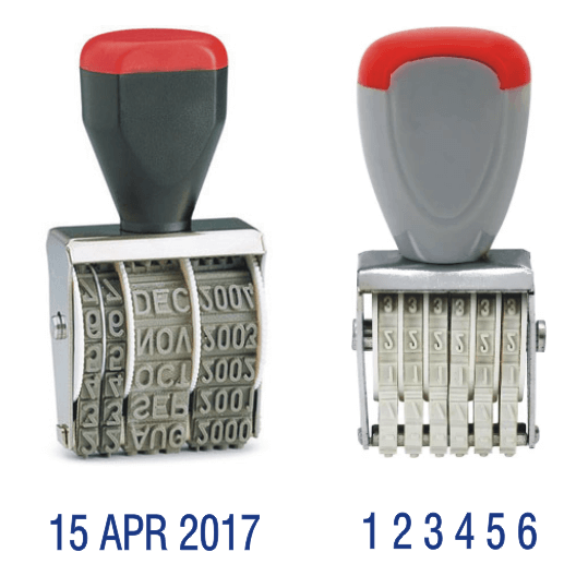 Date/Number Stamps