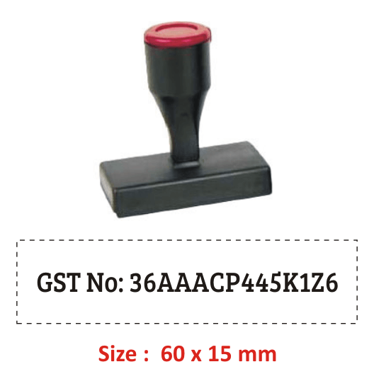 Buy Gst Rubber Stamp Nylon Online Madhu Stamps India
