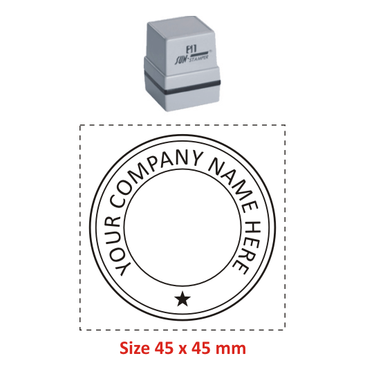 Buy Sun Round Stamp 24t Online Madhu Stamps India