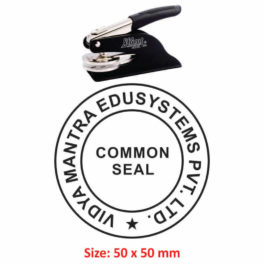 Shiny Embossing Seal 50mm